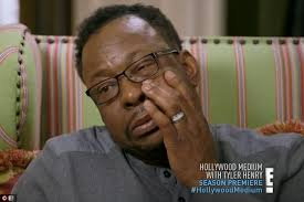 Bobby Brown Breaks Down On Hollywood Medium Daily Mail Online