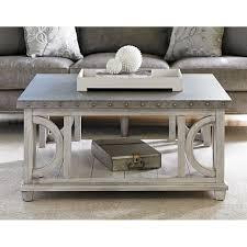 metal top coffee table. Lexington Oyster Bay Litchfield Metal Top Coffee Table In G