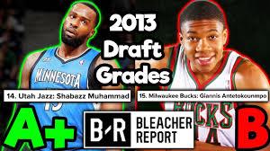 LOOKING BACK* At 2013 NBA Draft Grades ...