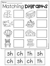 Most parents probably don't remember that there's a lot that goes into beyond our supply of dozens of phonics worksheets, consider using your child's everyday surroundings to. Digraph Worksheet Packet Ch Sh Th Wh Ph Kindergarten Worksheets Printable Digraphs Worksheets Kindergarten Phonics Worksheets