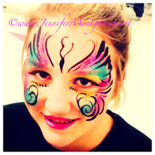 erfly face painting wilmington delaware by face painter jennifer montgomery of crazyfaces face painting philadelphia pa
