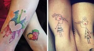 30 Schöne Tattoos Für Mutter Und Tochter Die Die Besondere Bindung