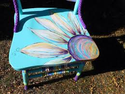 one of the questions i get a lot is did they tell you what they wanted on them or what colors to use usually i visit with a customer about their carolyn funky furniture