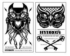 business card mock designed by hydro74