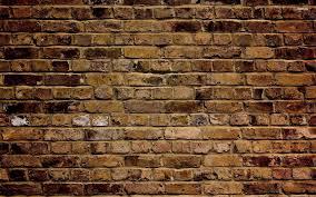 brown brick wallpaper hd