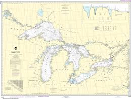 Great Lakes Navigation Charts Noaa Nautical Chart 14500 Great Lakes Lake Champlain To Lake Of The Woods