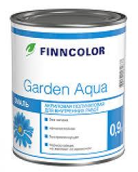 <b>Finncolor Гарден</b> Аква (<b>Garden</b> Aqua) быстросохнущая <b>акриловая</b> ...