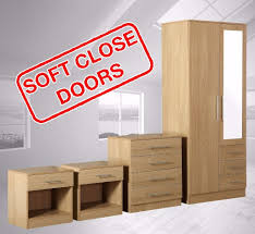 Gumtree Bedroom Furniture Zilato 4 Piece Mirrored Bedroom Furniture Set 3 Drawer Wardrobe