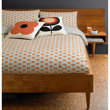 orla kiely house ditsy cyclamen duvet cover double