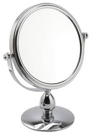 mirror 10x magnification. classic short stem pedestal 10x mag mirror \u0027martha\u0027 magnification d