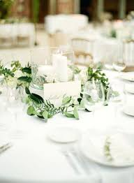 centerpiece for round table trend greenery a simple wedding table wedding table centerpieces centerpiece for round table
