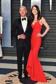 Jeff Bezos and His Wife MacKenzie ...