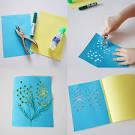 Как детские сделать открытку своими руками