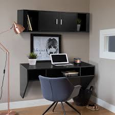 home office desks with storage giantex home office furniture set wall mounted floating storage