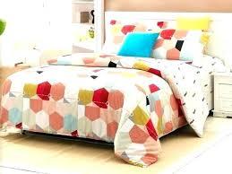 geometric comforter sets queen bedding duvet covers linen cotton or cut navy blue set full size