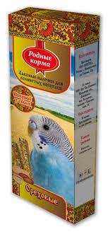 "Лакомство для попугаев ""<b>Родные корма</b>"", <b>зерновые палочки</b> с ..."