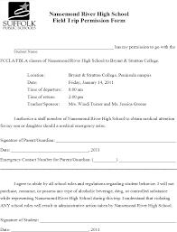 Field Trip Permission Letter Download Hd Sample Field Trip Permission Letter Oyle Kalakaari