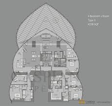 tall tower floor plan
