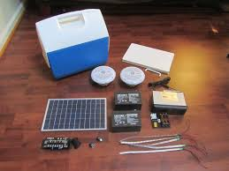 Solar Power Cooler Build Your Own Solar Cooler Stereo Project Solar Burrito