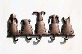 Cat Coat Rack Wall Key Racks for Home and Office Decorative and Animal 39