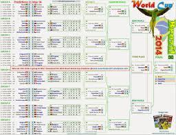Fifa World Cup 2018 Football Brazil Fixtures