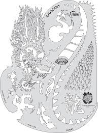 template of a dragon amazon com artool freehand airbrush templates kanji master dragon