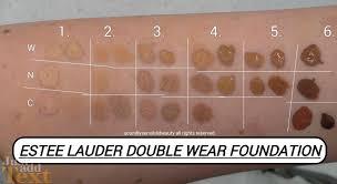 Double Wear Chart Estee Lauder Maximum Cover Colour Chart Best Picture Of