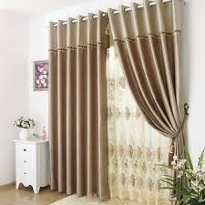 brown curtains for bedroom. Wonderful Brown Delicate And Modern Bedroom Brown Patterned Curtains For Curtains