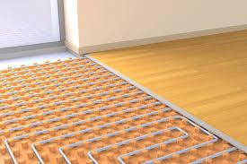 in floor heating ponents
