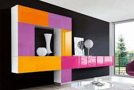modern colorful furniture. Home Designs:Interior Design For Living Room Wall Unit 14 Modern Colorful Furniture N
