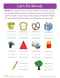 R Blend Worksheets for First Grade | Homeshealth.info