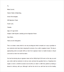8+ Sample Closing Business Letters | Sample Templates