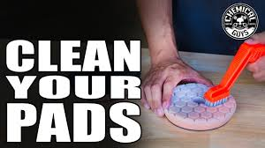How To Clean And Maintain Foam Polishing Pads Chemical Guys Car Care