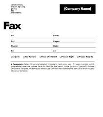 Template Fax Cover Sheet Microsoft Word Salonbeautyform Com