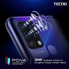 TECNO Mobile - #POVA dispose d'une caméra arrière...   Facebook