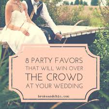 party favors that will win over the crowd at your weddingbroke regarding wedding party favors vine