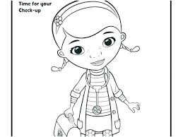 Doc Mcstuffins Coloring Pages Printable Dpalaw