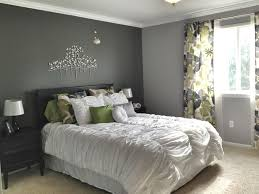 Cool grey bedroom | Incredible Grey Walls Bedroom Design