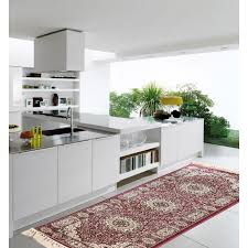 Kitchen Floor Runner Dome Multi 2x6 Floor Runner