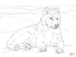 Realistic Wolf Coloring Pages Printable Awesome 15 Cool Detailed