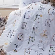 alphabet crib sheet sferra baby abc sampler crib bedding