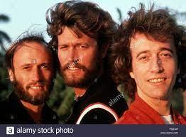 Barry, Robin und Maurice Gibb, die Bee Gees Stockfotografie - Alamy