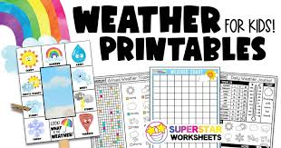 Weather symbols is a collection of text symbols ϟ that you can copy and paste on any web or mobile app. Weather Printables Superstar Worksheets