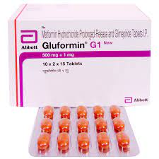 GLUFORMIN G 1MG TABLET Price, Uses, Side Effects, Composition - Apollo 24