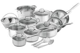 Saucepan Size Chart 8 Best Stainless Steel Cookware For Your Kitchen Reviews