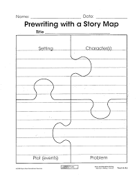 Story Map Template Story Map Puzzle Template The Teacher Within Me Pinterest 5