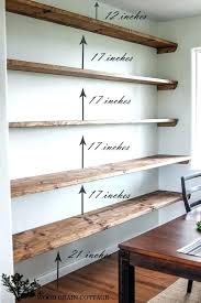 office floating shelves. Corner Desk Office Wall Shelves Furniture Creative Home Storage Ideas Floating