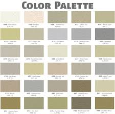 27 Specific Acrylic Stucco Colors
