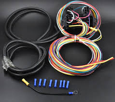 china 8 circuit universal wire harness muscle car hot rod street rod Car Wiring Harness Kits 8 circuit universal wire harness muscle car hot rod street rod rat rod