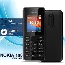 Nokia 108 Dual Sim Mobile gsm ...